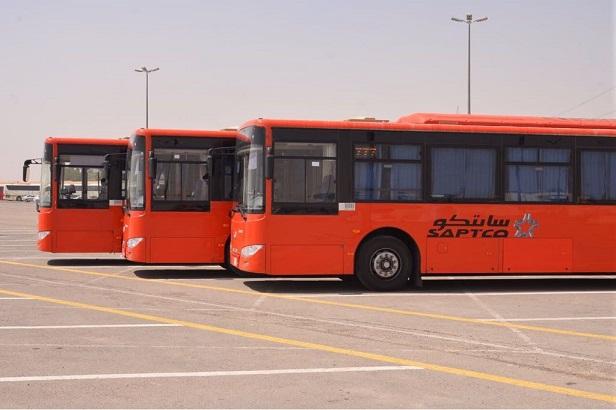 Saptco سابتكو تباشر خدمات النقل العام البديلة للحافلات الأهلية في الرياض وجدة